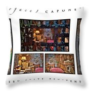 Al Scarface Capone's Cell Throw Pillow