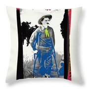Al Seiber Chief Scout Indian Wars No Date 2013 Throw Pillow