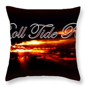 Alabama - Roll Tide Throw Pillow