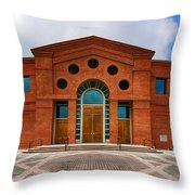 Alabama Shakespeare Festival Facade Throw Pillow