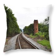 Alabama Tracks Throw Pillow
