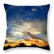 Alabaster Sky Throw Pillow