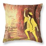 Aladdin Throw Pillow