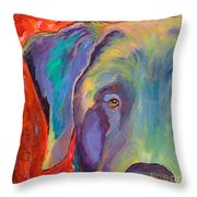 Aladdin Throw Pillow by Pat Saunders-White