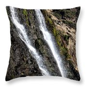 Alamere Falls Two Throw Pillow by Garry Gay