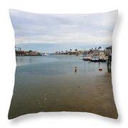 Alamitos Bay Throw Pillow