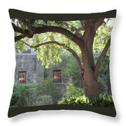 Alamo At Dusk Throw Pillow