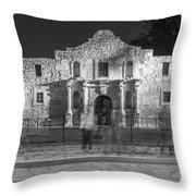 Alamo In Texas  Throw Pillow