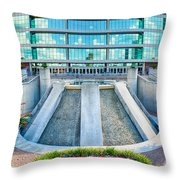 Alamodome In San Antonio Throw Pillow