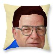 Alan Bachman Throw Pillow