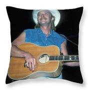 Alan Jackson Throw Pillow