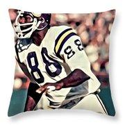 Alan Page Throw Pillow