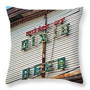Alas Poor Dixie Throw Pillow