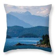 Alaska 0830 Throw Pillow