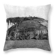Alaska Eskimos, C1897 Throw Pillow