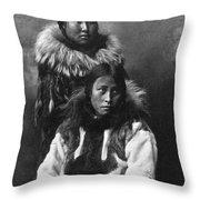 Alaska Eskimos, C1903 Throw Pillow