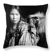 Alaska Eskimos, C1912 Throw Pillow