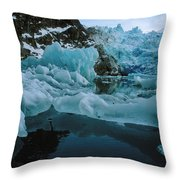 Alaska Iceberg Throw Pillow