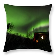 Alaska Living Throw Pillow