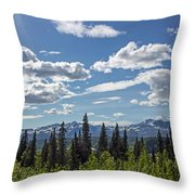 Alaska Range IIi Throw Pillow