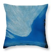Alaska Sky Throw Pillow