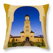 Alba Iulia Belltower Throw Pillow