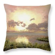 Alba Nella Palude Throw Pillow
