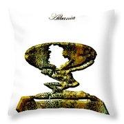 Albania Throw Pillow