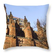 Albany Church Throw Pillow