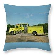Albany Community Volunteer Fire Dept.  702 Throw Pillow