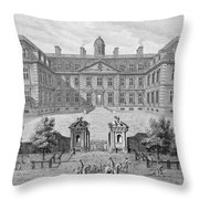 Albemarle House, Formerly Clarendon Throw Pillow