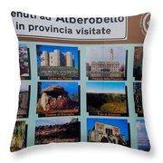Alberobello Italy Throw Pillow