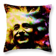 Albert Einstein - Why Is It That Nobody Understands Me - Yet Everybody Likes Me Throw Pillow