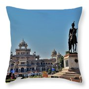 Albert Hall - Jaipur India Throw Pillow