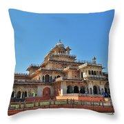 Albert Hall 3 - Jaipur India Throw Pillow