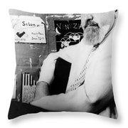 Albert Hirschfeld (1903-2003) Throw Pillow