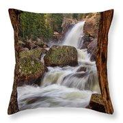 Alberta Falls II Throw Pillow