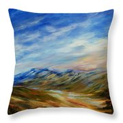 Alberta Moment Throw Pillow