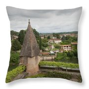 Albi France Arch Bishops Garden Throw Pillow