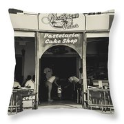 Albufeira Street Series - Martinique Velha Throw Pillow