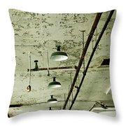 Alcatraz 6 Throw Pillow