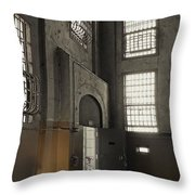 Alcatraz Doorway To Freedom Throw Pillow by Daniel Hagerman