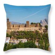 Alcazaba Throw Pillow