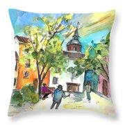 Alcazar De San Juan 02 Throw Pillow