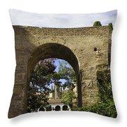 Alcazar - Sevilla - Spain Throw Pillow