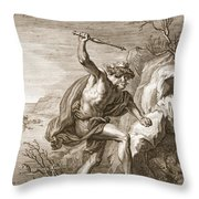 Alcyone And Ceux Transformed Throw Pillow