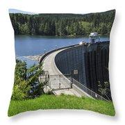 Alder Dam 2 Throw Pillow