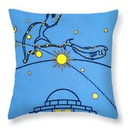 Alder Planetarium Throw Pillow by Jennifer Rondinelli Reilly - Fine Art Photography