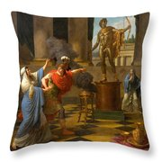 Alexander Consulting The Oracle Of Apollo Throw Pillow