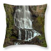 Alexander Falls - Whistler Bc Throw Pillow